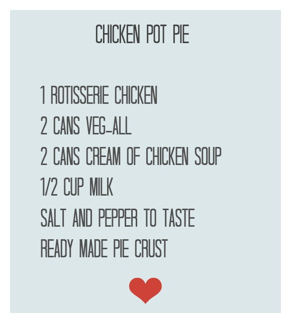 chicken pot pie recipe new