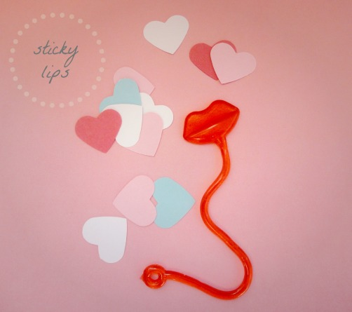 sticky lips and hearts new